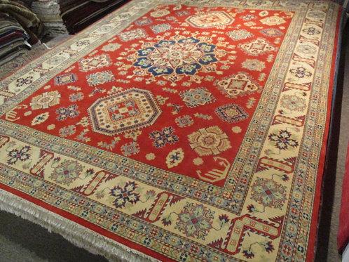9' x 12' Tribal Kazak 100% Wool Handmade-Knotted Rug