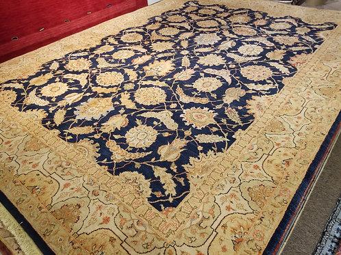 9' x 12' Antique Tabriz 100% Wool Handmade-Knotted Rug