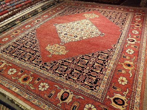 9' x 11' Amazing 100% Wool Handmade-Knotted Rug