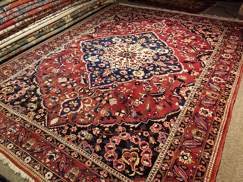 9'x 12' Gorgeous Design & Colors Persian Bakhtiar 100% Wool Handmade-Knotted Rug