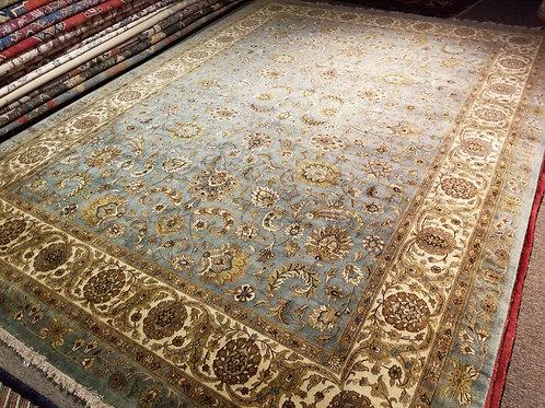 9' x 12' Fine Weave Antique Tabriz 100% Wool Handmade-Knotted Rug