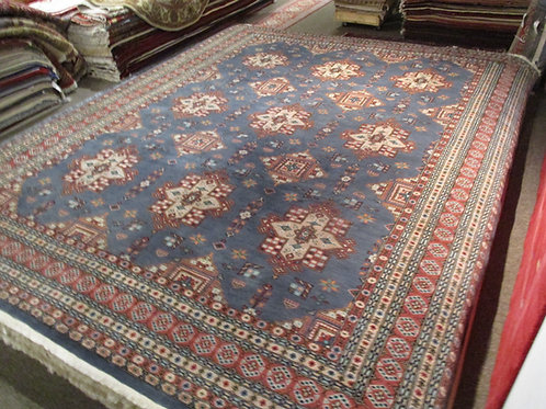 9' x 12' Amazing Bukhara 100% Wool Handmade-Knotted Rug