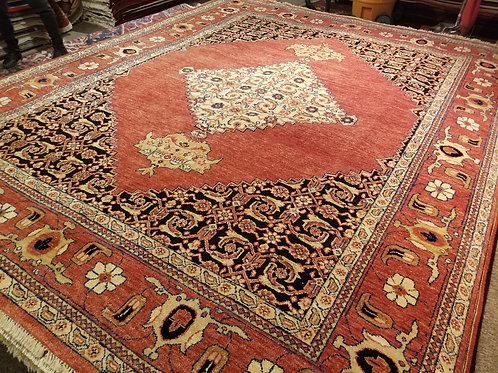 9' x 11' Museum Design 100% Wool Handmade-Knotted Rug