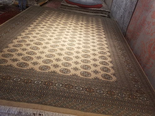9' x 12' ABC Collection  100% Wool Handmade-Knotted Rug