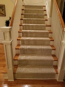 Designer stair runner