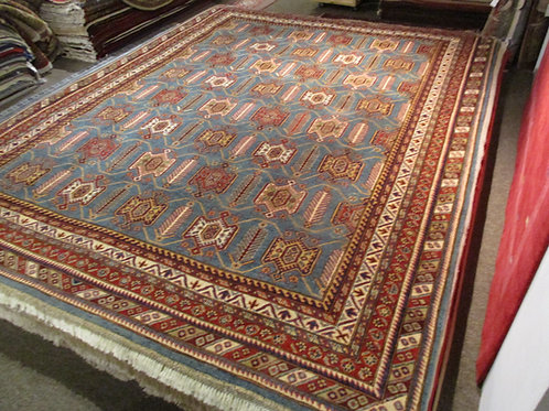 9' x 12' ABC COLLECTION Tribal 100% Wool Handmade-Knotted Rug