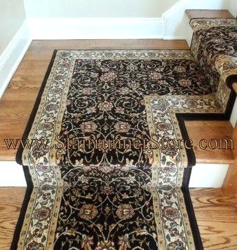 traditional stair runner