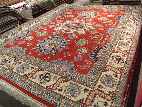 9' x 12' Tribal 100% Wool Handmade-Knotted Rug