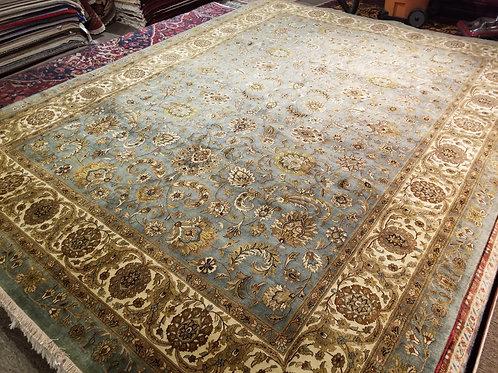 9' x 12' Fine Antique Tabriz 100% Wool Handmade-Knotted Rug