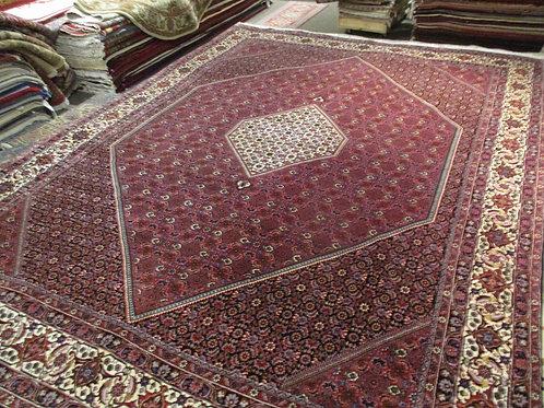 9' x 12' Persian Fine Bidjar Circa 1970 100% Wool Handmade-Knotted Rug