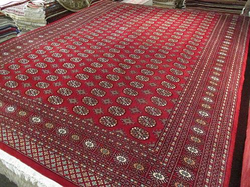 9' x 12' Royal Bokhara 100% Wool Handmade-Knotted Rug