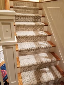 Designer stair runner second stairs