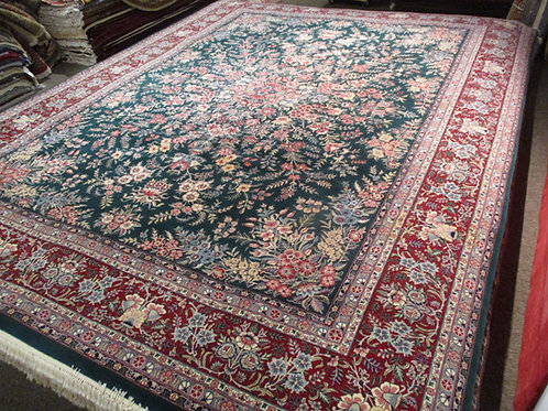 9' x 12' Fine Antique Tabriz 100% Wool Handmade-Knotted Rug