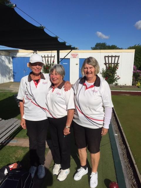 Annabel, Amy & Jenny, RedCliffs Women's Triples Team