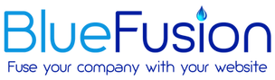 BlueFusion Christchurch Web Development Logo
