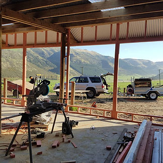 JMH Builders at one of their Northern Canterbury Building Sites