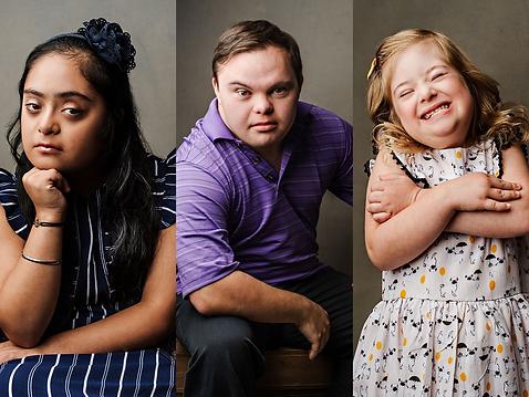 Confident Down syndrome kids
