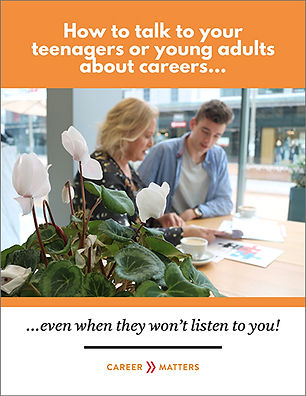 How to talk to your teenagers about careers eBook cover