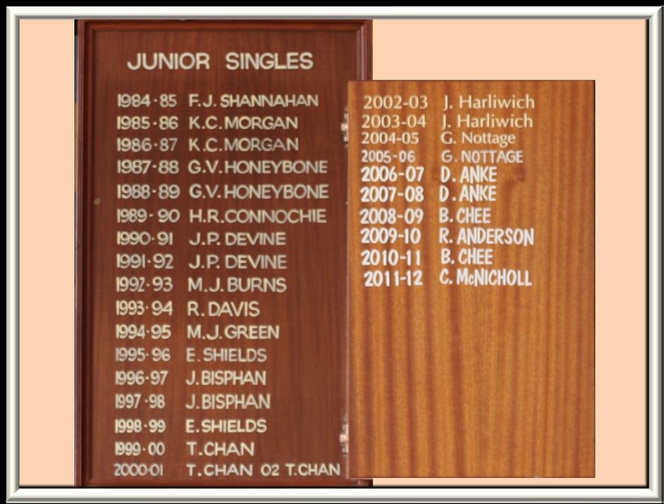 31 Junior Singles  1984 - 2012.png