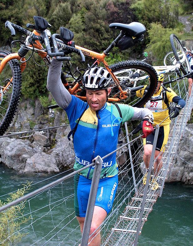 Adventure Racing Bike Swingbridge - crop