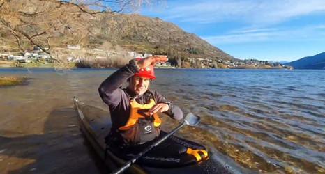 Testing the Waimak Kayak