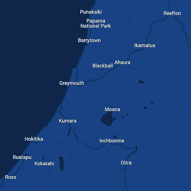 West Coast Chimney Cleaning Region Map