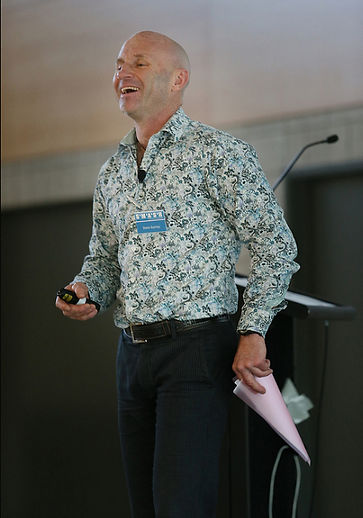 Steve speaking and smiling at SMASH June 2013.jpg