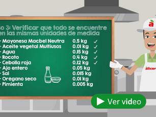 ¡Formula correctamente tus recetas y logra eficiencias!