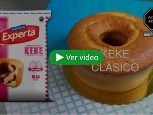Agiliza la preparación de tus kekes con Premezcla Experta