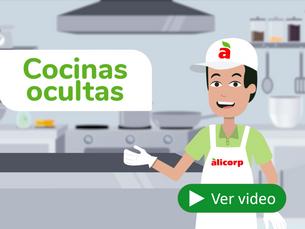 Cocinas ocultas: nuevo modelo de negocio