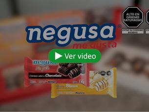 Conoce la cobertura sabor a chocolate Negusa