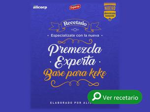 Recetario Premezcla Experta Base para Keke