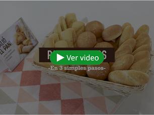 Obtén panes crocantes y recién horneados en 3 simples pasos