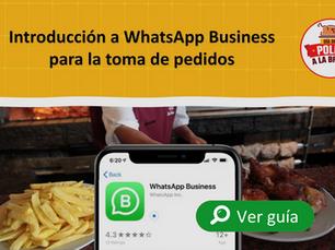 Uso de WhatsApp Business para la toma de pedidos