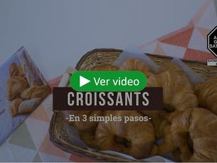 ¡Croissants frescos y recién horneados en 3 simples pasos!