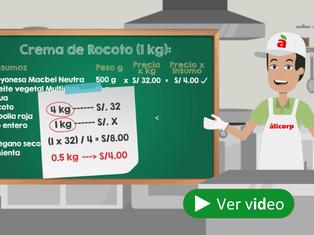 ¡Aprende a costear rus recetas y genera eficiencias