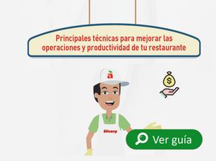 Tips para mejorar tus operaciones y la productividad de tu restaurante