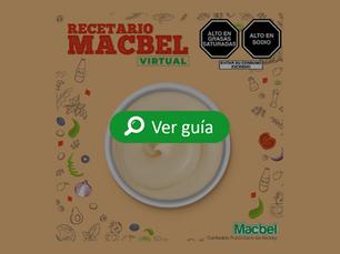 Recetario de salsas con Macbel