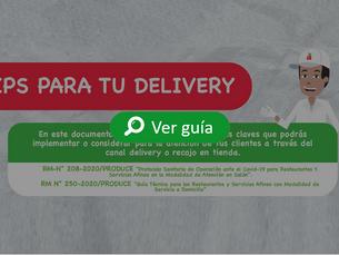 Tips para realizar delivery