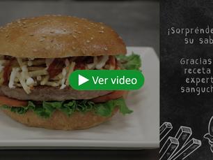 ¡Prepara hamburguesas de manera rápida y sencilla!