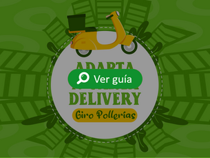 Adapta tu carta delivery - pollerías