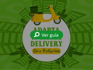 Adapta tu carta delivery - pollerías