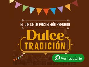 Recetario de pastelería tradicional peruana