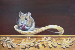 """Wild@Home """"What's for Dinner?"""" 8x12 inch"""