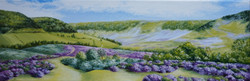Colourful Hole of Horcum 8x24inch