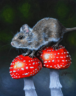 Fly Agaric with Mouse