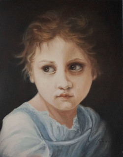 the glance 10x8 oil on board