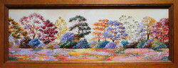 Trees in colour  24x8