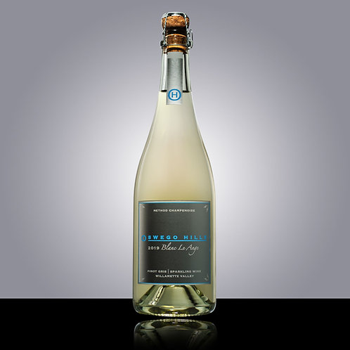 Oswego Hills Blanc Le Ange 2019 (Sparkling Pinot Gris)