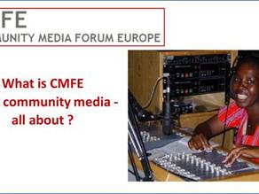 CMFE presentation to Global Forum for Media Development (GFMD) members